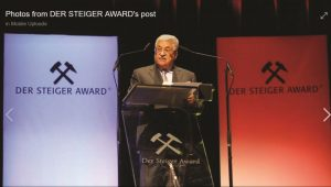 Palestinian Leader Steals the Prize