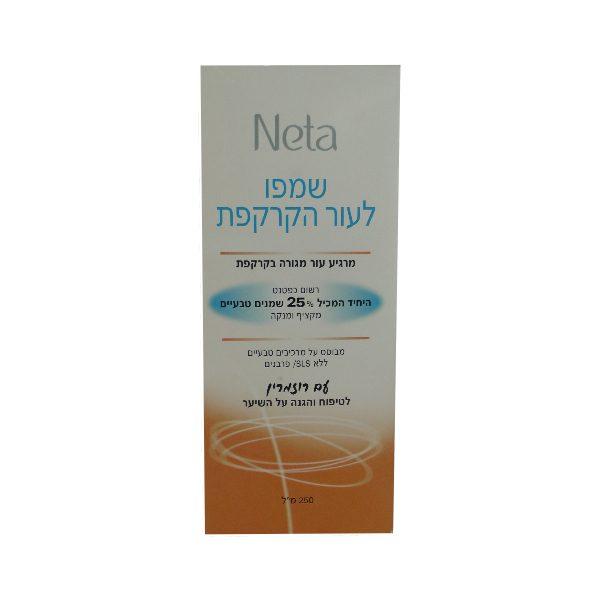 Natural anti-dandruff shampoo for sensitive skin
