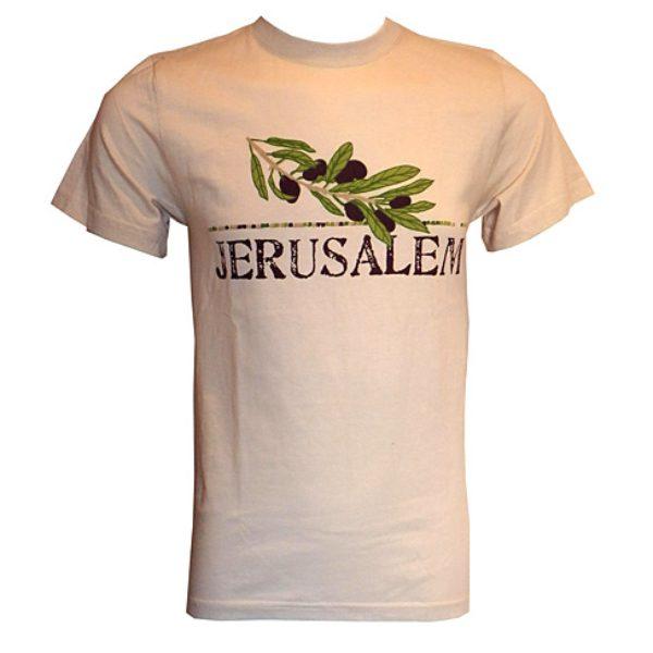 Jerusalem Olive Branch T-Shirt