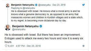 When Netanyahu Counter-Trolled Erdogan