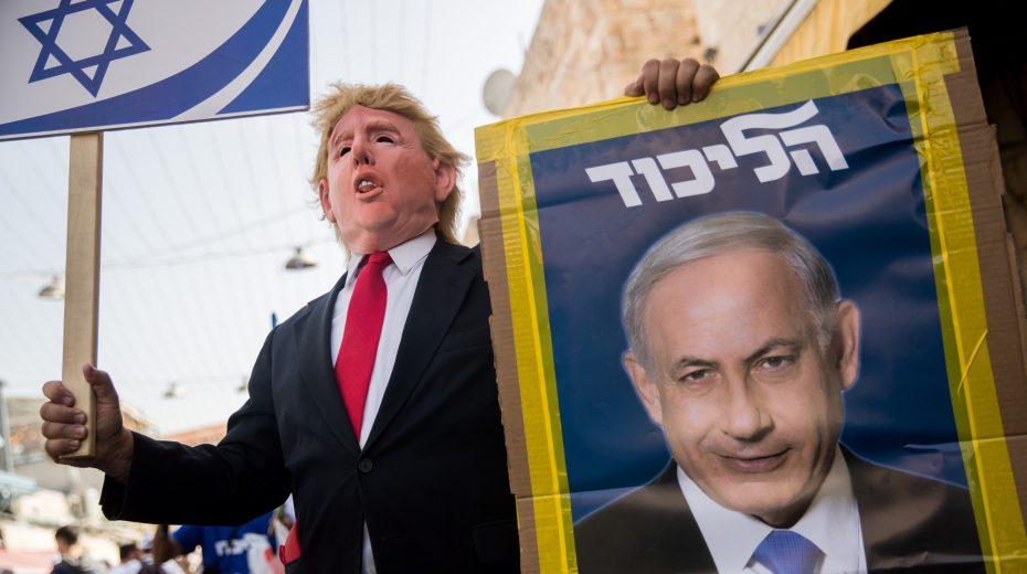 Israelis love Trump