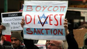 BDS demonstration in Melbourne