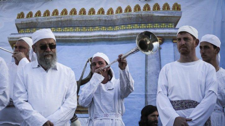 Third Temple Alert: Police Authorize Passover Sacrifice Next to
