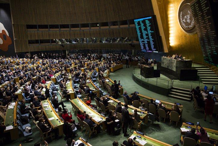 Rosnące wpływy Izraela w ONZ