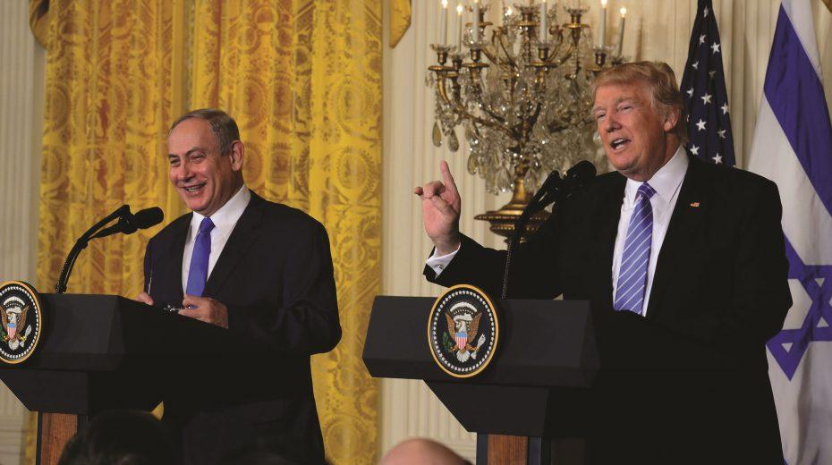 Netanjahu and Trump