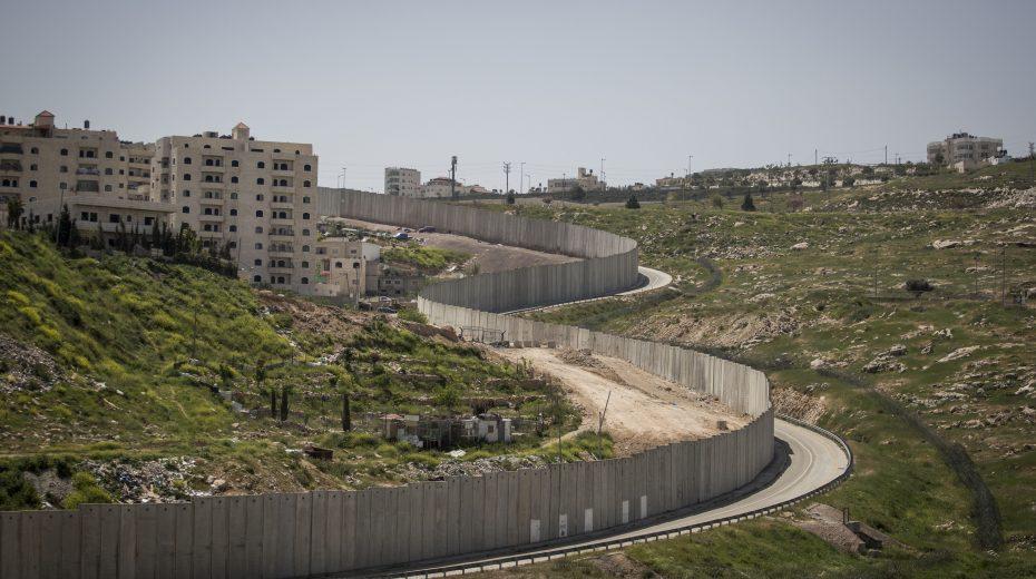 Wall around Shuafat