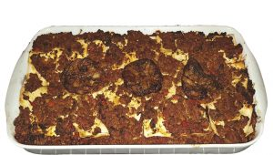 Lasagna with Meat and Eggplant