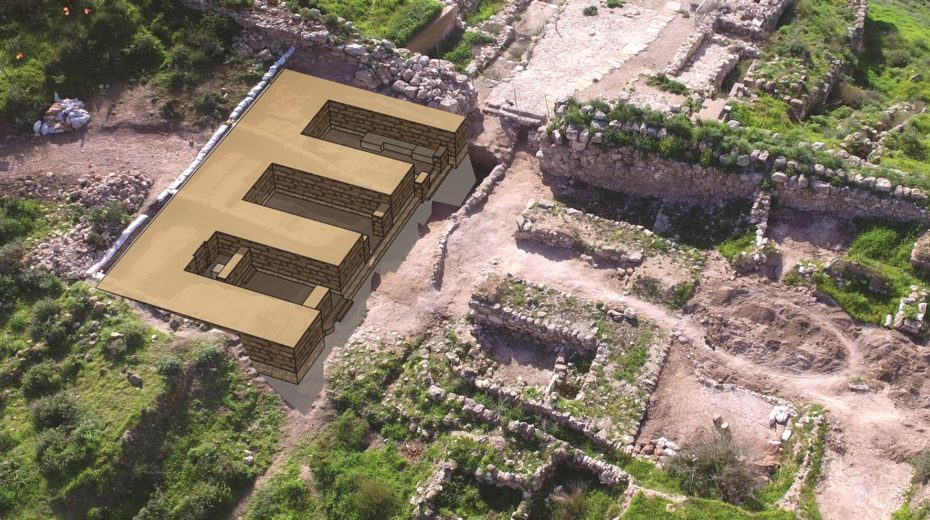 ARCHAEOLOGICAL EVIDENCE from the First Temple Period