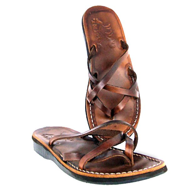 """""""Shiloh"""" style Biblical sandals for Women and Kids"""