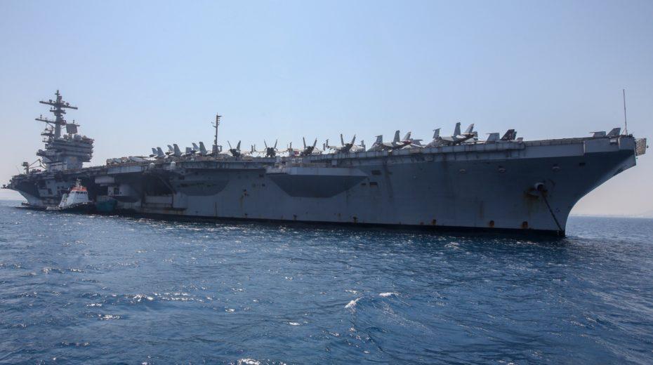 A US warship docks in Israel