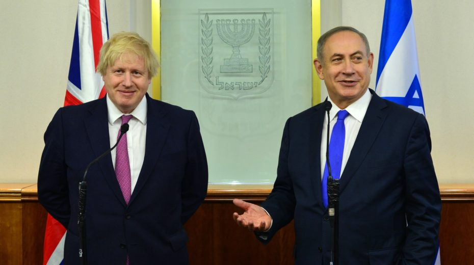 Boris Johnson could significantly alter the way Britain relates to Israel