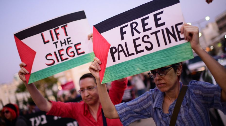 Anti-Israel activists falsely accuse her of war crimes