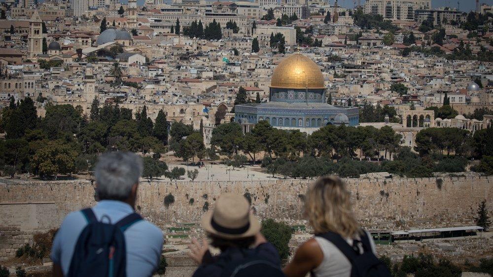 Temple Mount in Jerusalem.