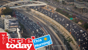 Traffic in Tel Aviv