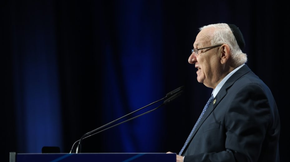President Rivlin to address German parliament in Hebrew