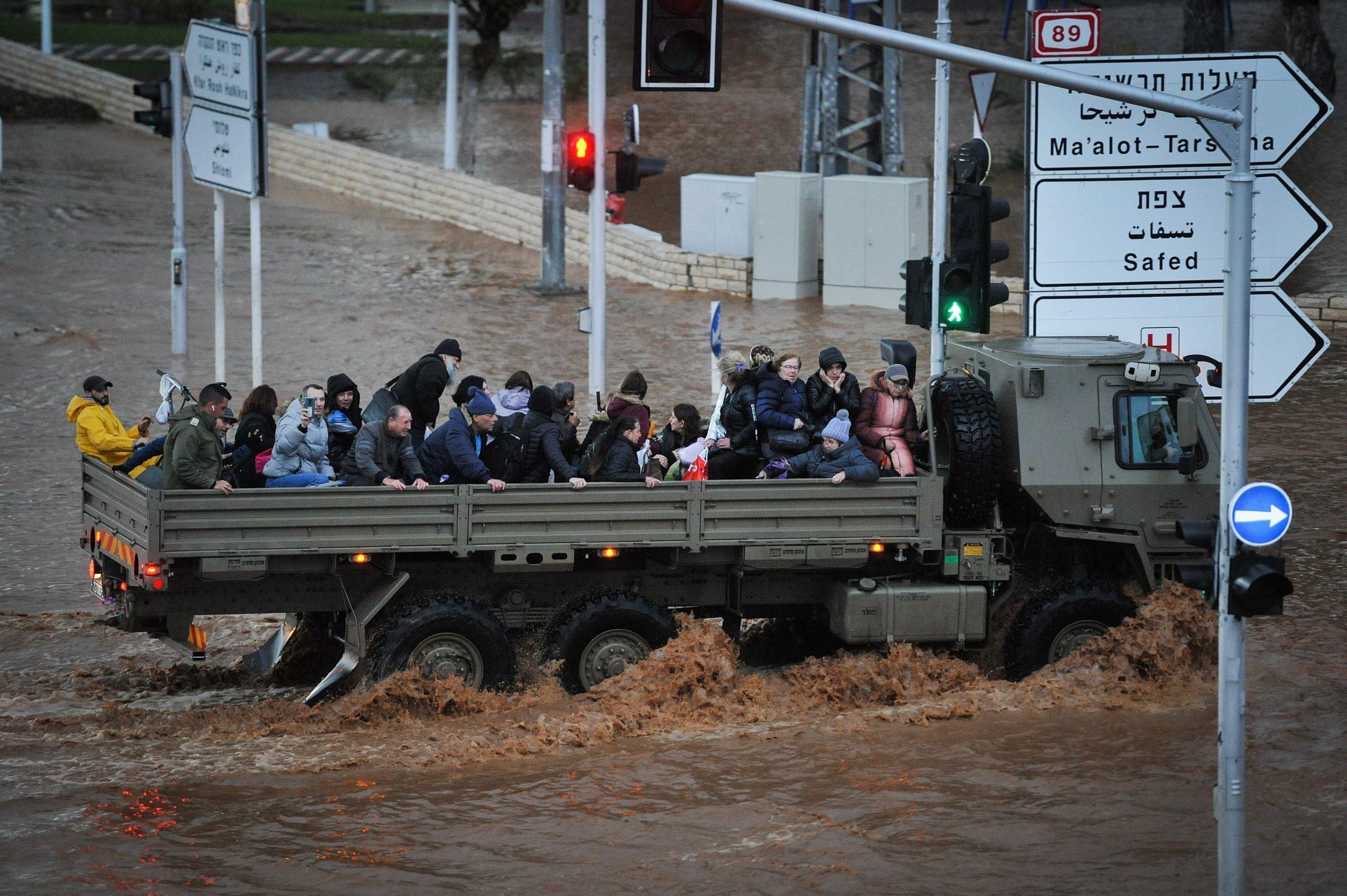 Überschwemmungen Nahariya