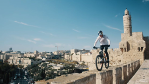 Israel mountain bike adventure.