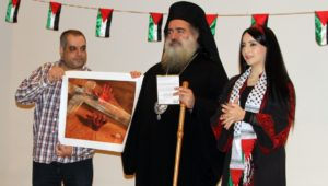 Archbishop Atallah Hanna has been a leading Christian voice against Israel.