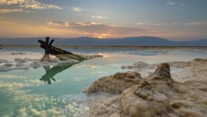 Dead Sea secret river is being threatened by unsupervised mineral mining.