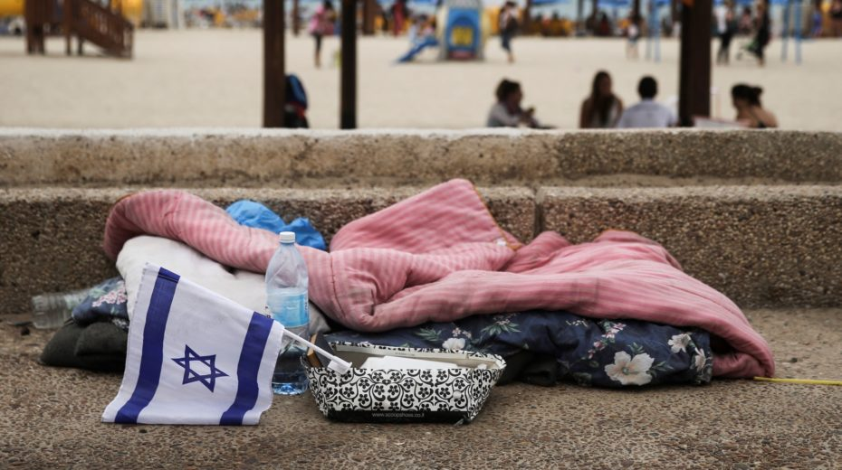 Messianic Jewish charity plays major role in effort to help Tel Aviv homeless population.