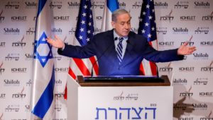 Netanyahu charged with political grandstanding.