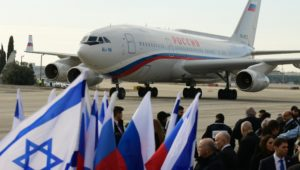 Cyber-terrorists targeted the planes of Putin and other world leaders arriving in Israel.