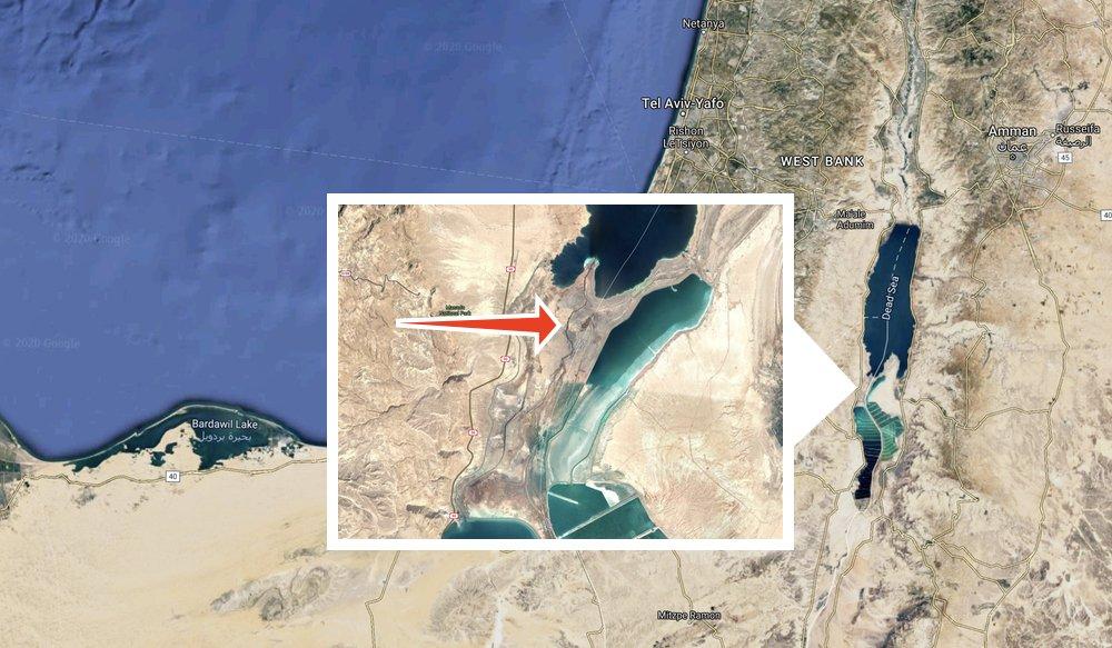 Secret Dead Sea river isn't really a river, or secret