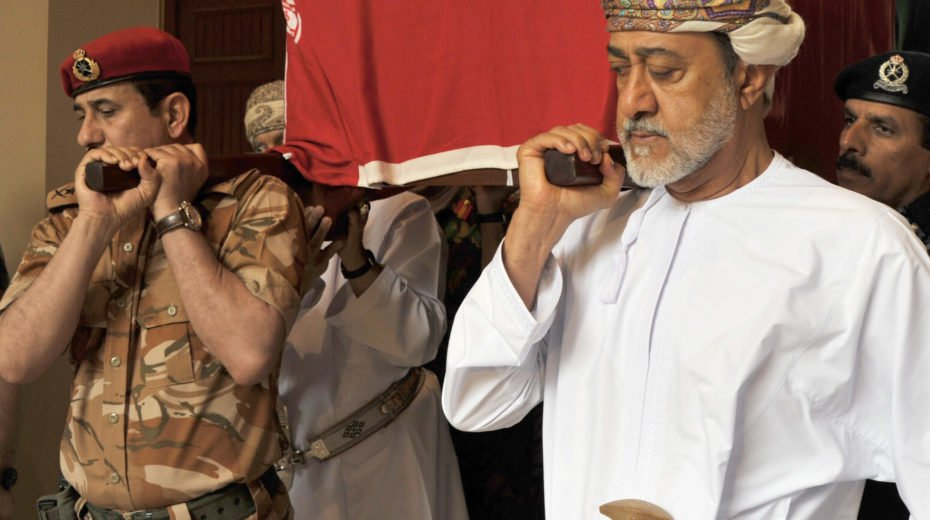Sultan Qaboos of Oman is laid to rest in Muscat.