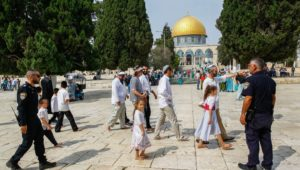 Jews are not permitted to pray at the Temple Mount.
