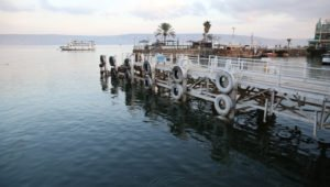 The Sea of Galilee is finally filling up.