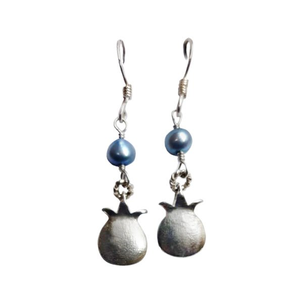 Silver Pomegranate earrings