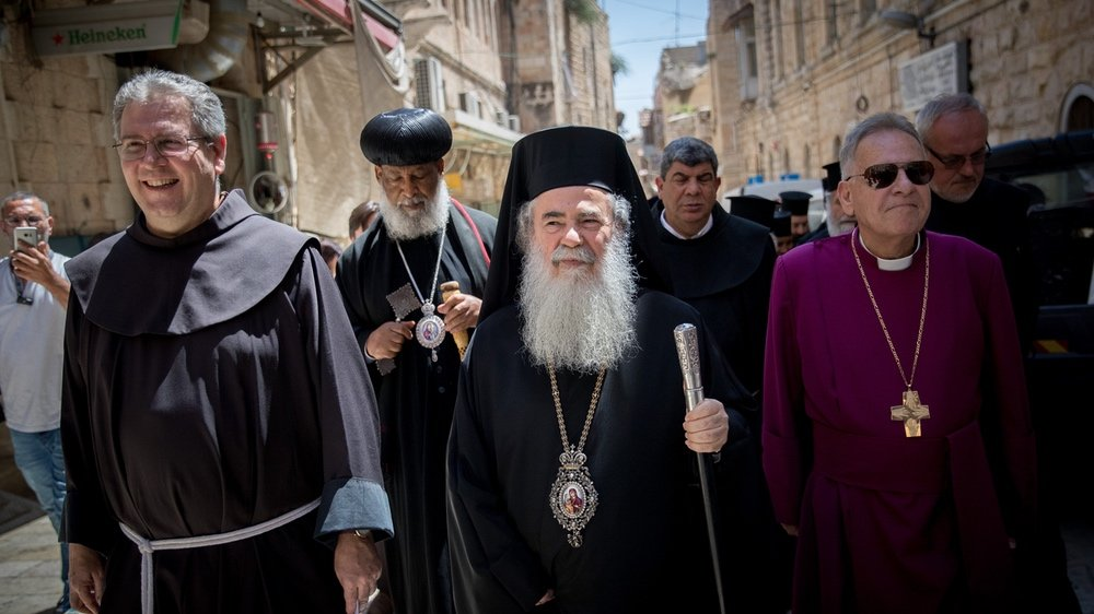Greek Orthodox Patriarch of Jerusalem Theophilos III.
