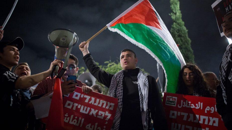Trump peace plan faces fierce opposition from Israeli Arabs.