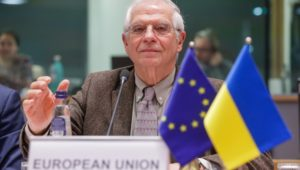 Josep Borrell frustrated that other Europeans won't join him in condemning Israel.