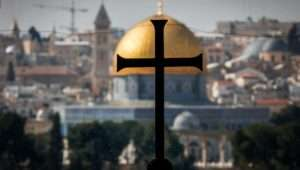 Jerusalem church politics could play a big role in the future the Holy City.