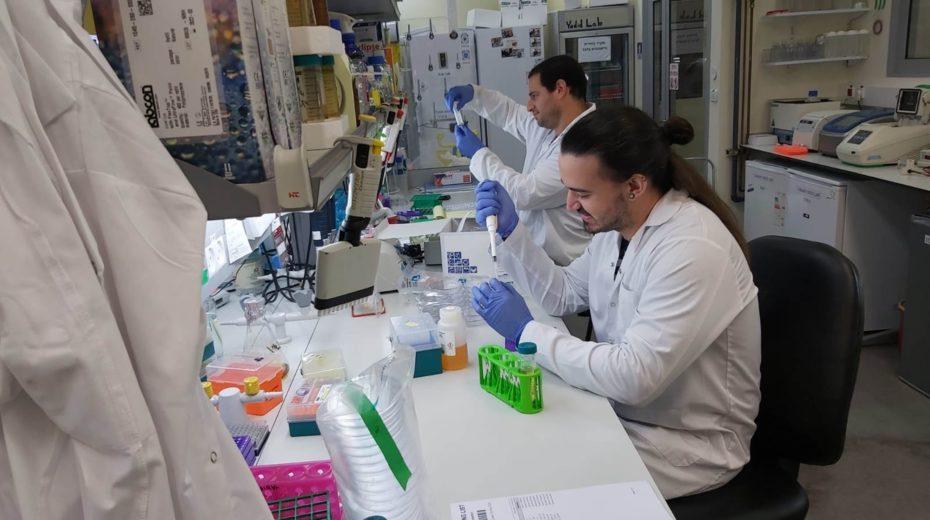 Israeli scientists work on a coronavirus vaccine