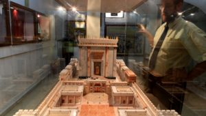 Only the Third Temple, the crown of the world, can protect us, says rabbi.