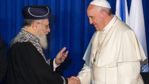 After Pope Francis endorses Shabbat, rabbis seek return of Temple treasures.