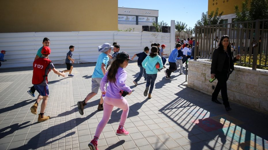 Israeli children must be prepared for a missile attack.