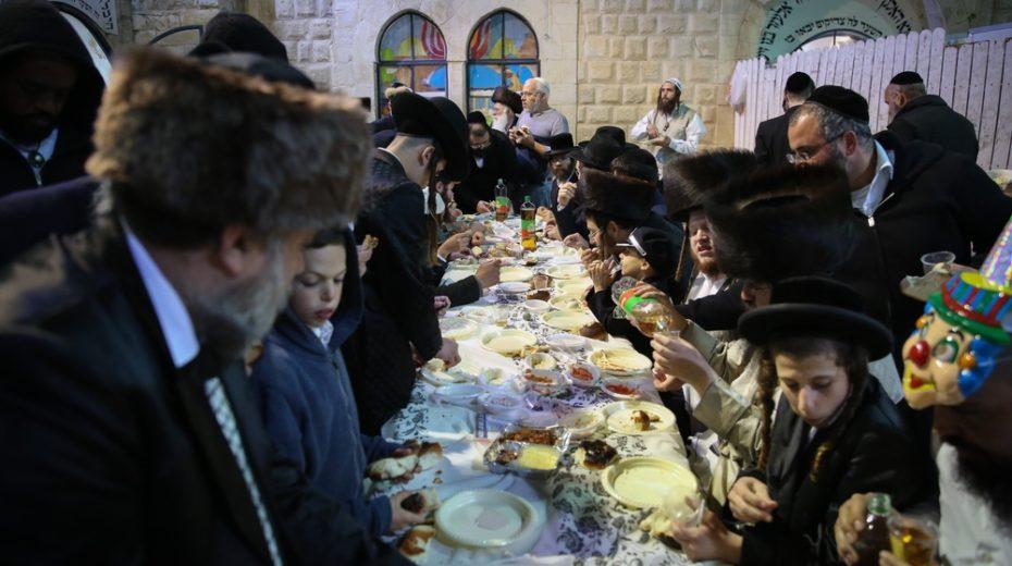 Purim Feast.