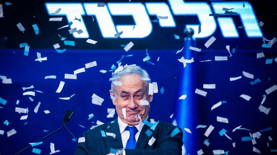 Netanyahu again elected as Israel's leader.