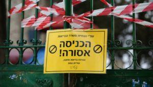 Israel is on lockdown to contain coronavirus.