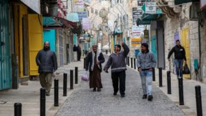 Israel struggles to get Arabs to follow guidelines against coronavirus spread.