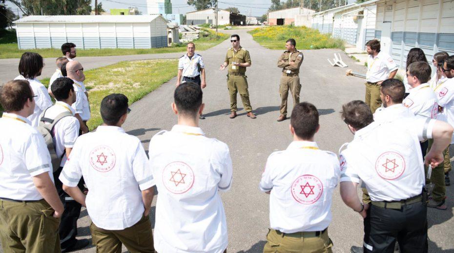 The IDF has been called on to fight coronavirus.