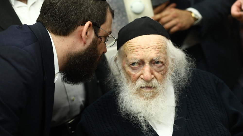 Ultra-Orthodox Jews have until now been disobeying government guidelines.