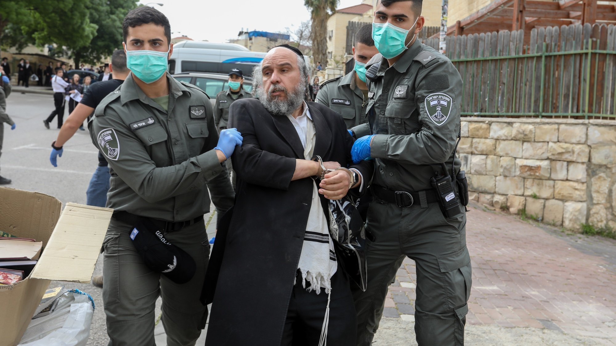 Ultra-Orthodox Jews are being blamed by many Israelis for the spread of coronavirus.