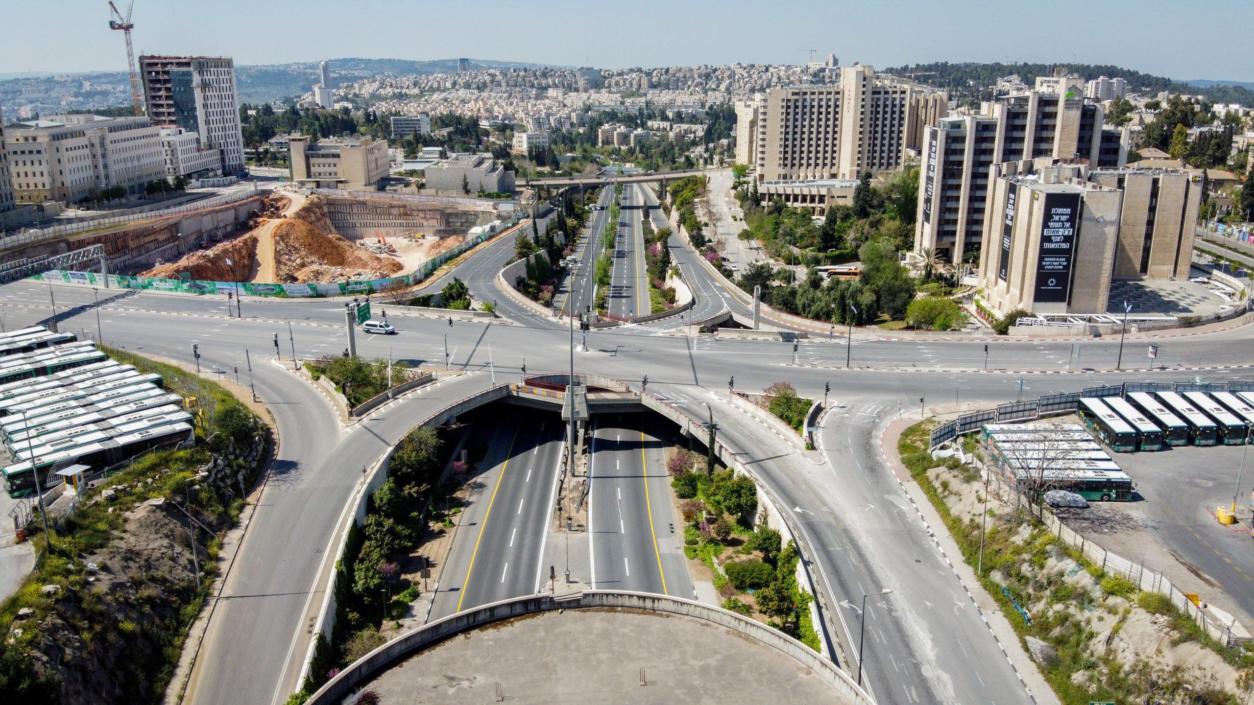 Jerusalem - Leere Straßen