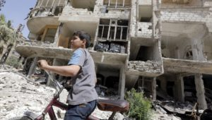 Special UN report slams Syria over chemical attack on its own people.