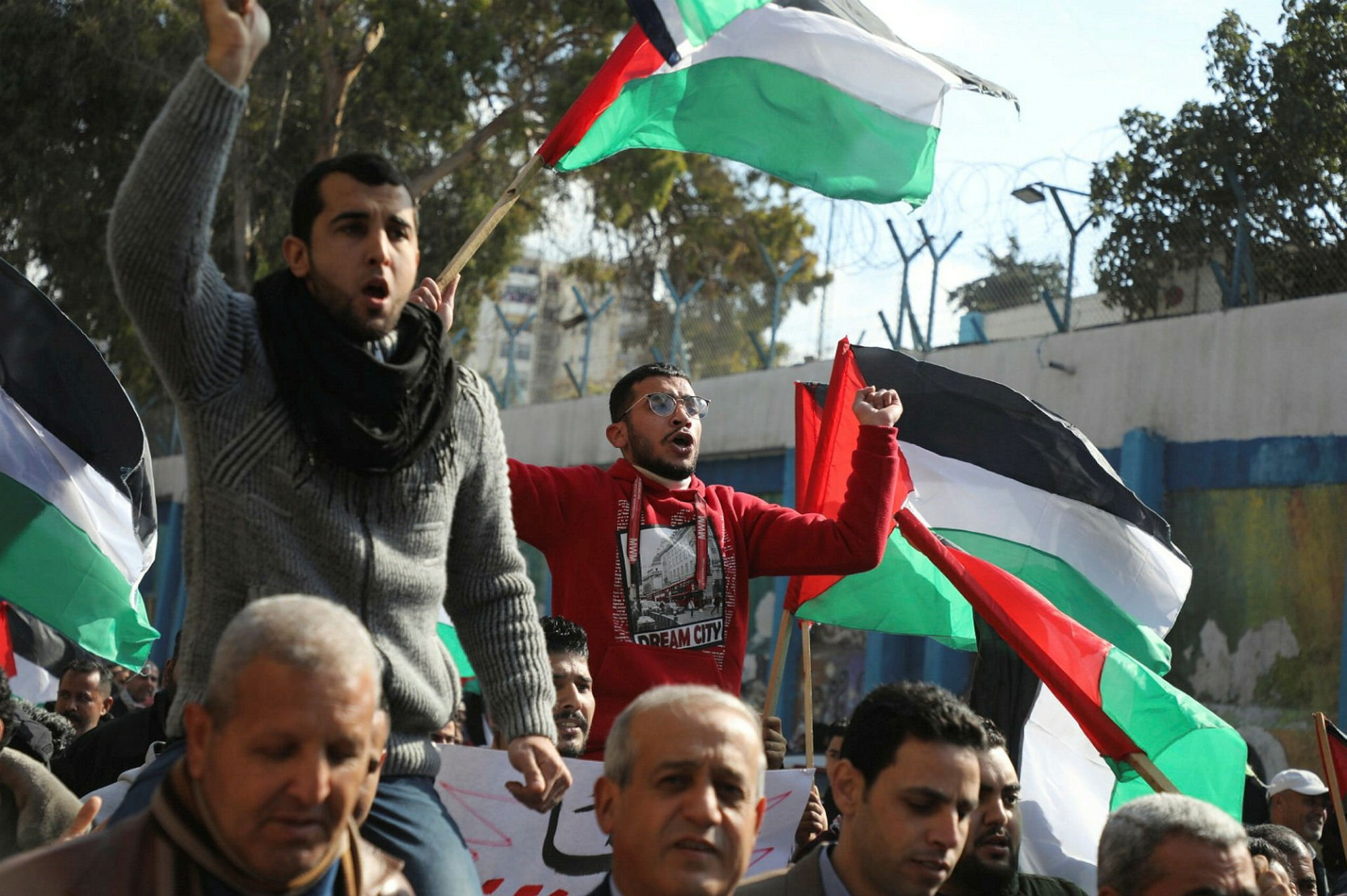 Palestinians mark Nakba Day, the catastrophe of Israel's rebirth.