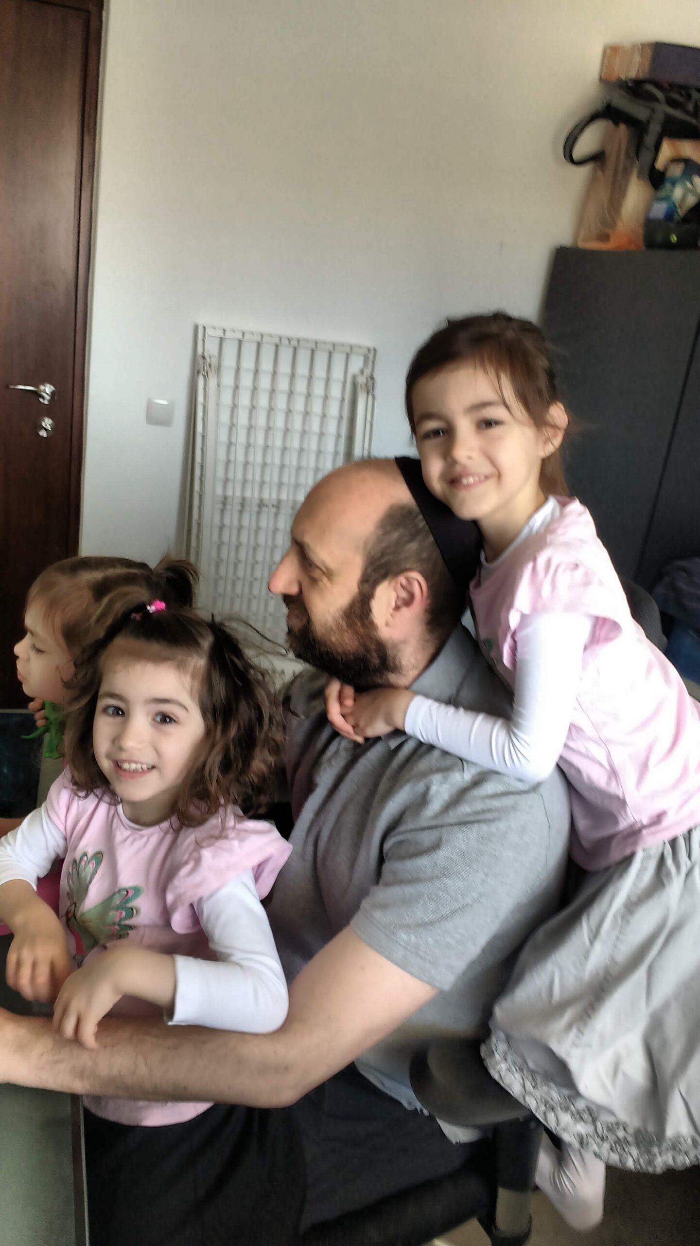 Michael und Kinder